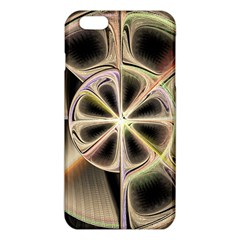 Background With Fractal Crazy Wheel Iphone 6 Plus/6s Plus Tpu Case by Simbadda