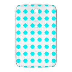 Polka Dot Blue White Samsung Galaxy Note 8 0 N5100 Hardshell Case  by Mariart