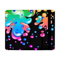 Neon Paint Splatter Background Club Samsung Galaxy Tab Pro 8 4  Flip Case