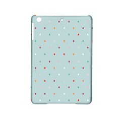 Polka Dot Flooring Blue Orange Blur Spot Ipad Mini 2 Hardshell Cases by Mariart