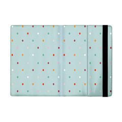 Polka Dot Flooring Blue Orange Blur Spot Ipad Mini 2 Flip Cases by Mariart