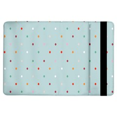 Polka Dot Flooring Blue Orange Blur Spot Ipad Air Flip by Mariart