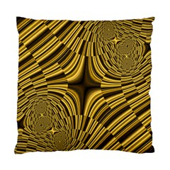 Fractal Golden River Standard Cushion Case (two Sides) by Simbadda