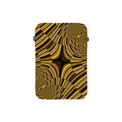 Fractal Golden River Apple Ipad Mini Protective Soft Cases by Simbadda