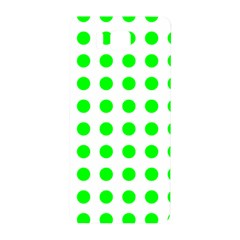Polka Dot Green Samsung Galaxy Alpha Hardshell Back Case by Mariart