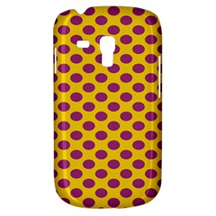 Polka Dot Purple Yellow Orange Galaxy S3 Mini by Mariart