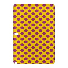 Polka Dot Purple Yellow Orange Samsung Galaxy Tab Pro 10 1 Hardshell Case