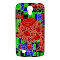 Background With Fractal Digital Cubist Drawing Samsung Galaxy Mega 6 3  I9200 Hardshell Case