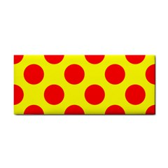 Polka Dot Red Yellow Cosmetic Storage Cases