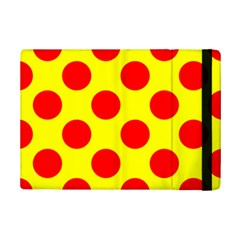 Polka Dot Red Yellow Ipad Mini 2 Flip Cases by Mariart