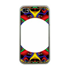 Symmetric Fractal Snake Frame Apple Iphone 4 Case (clear) by Simbadda