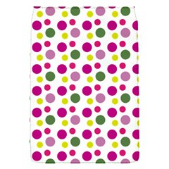 Polka Dot Purple Green Yellow Flap Covers (s)