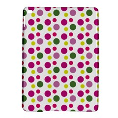 Polka Dot Purple Green Yellow Ipad Air 2 Hardshell Cases by Mariart