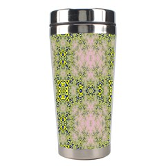 Digital Computer Graphic Seamless Wallpaper Stainless Steel Travel Tumblers by Simbadda