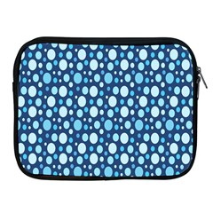 Polka Dot Blue Apple Ipad 2/3/4 Zipper Cases by Mariart