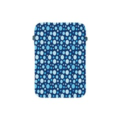 Polka Dot Blue Apple Ipad Mini Protective Soft Cases by Mariart