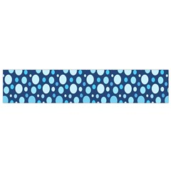 Polka Dot Blue Flano Scarf (small) by Mariart
