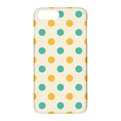 Polka Dot Yellow Green Blue Apple Iphone 7 Plus Hardshell Case by Mariart