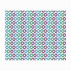 Polka Dot Like Circle Purple Blue Green Small Glasses Cloth