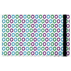 Polka Dot Like Circle Purple Blue Green Apple Ipad 3/4 Flip Case by Mariart
