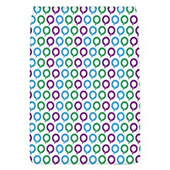 Polka Dot Like Circle Purple Blue Green Flap Covers (l)  by Mariart