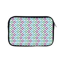 Polka Dot Like Circle Purple Blue Green Apple Macbook Pro 13  Zipper Case