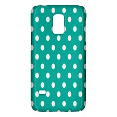 Polka Dots White Blue Galaxy S5 Mini by Mariart