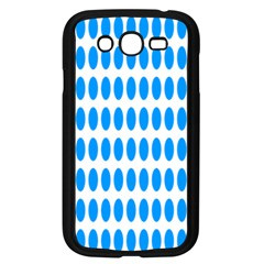 Polka Dots Blue White Samsung Galaxy Grand Duos I9082 Case (black) by Mariart