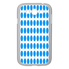 Polka Dots Blue White Samsung Galaxy Grand Duos I9082 Case (white) by Mariart
