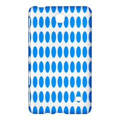 Polka Dots Blue White Samsung Galaxy Tab 4 (8 ) Hardshell Case  by Mariart
