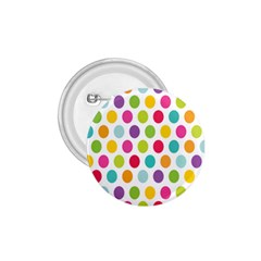 Polka Dot Yellow Green Blue Pink Purple Red Rainbow Color 1 75  Buttons by Mariart