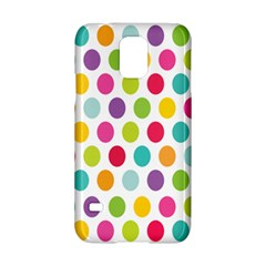 Polka Dot Yellow Green Blue Pink Purple Red Rainbow Color Samsung Galaxy S5 Hardshell Case  by Mariart