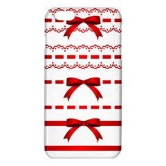 Ribbon Red Line Iphone 6 Plus/6s Plus Tpu Case by Mariart