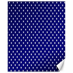Rainbow Polka Dot Borders Colorful Resolution Wallpaper Blue Star Canvas 16  X 20   by Mariart