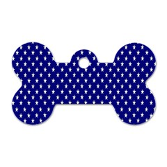 Rainbow Polka Dot Borders Colorful Resolution Wallpaper Blue Star Dog Tag Bone (two Sides) by Mariart