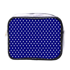 Rainbow Polka Dot Borders Colorful Resolution Wallpaper Blue Star Mini Toiletries Bags by Mariart