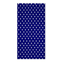 Rainbow Polka Dot Borders Colorful Resolution Wallpaper Blue Star Shower Curtain 36  X 72  (stall)  by Mariart