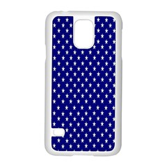 Rainbow Polka Dot Borders Colorful Resolution Wallpaper Blue Star Samsung Galaxy S5 Case (white) by Mariart