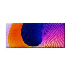 Wave Waves Chefron Color Blue Pink Orange White Red Purple Cosmetic Storage Cases by Mariart