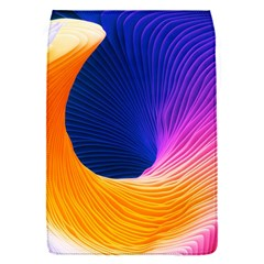 Wave Waves Chefron Color Blue Pink Orange White Red Purple Flap Covers (s)  by Mariart