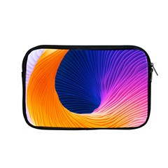 Wave Waves Chefron Color Blue Pink Orange White Red Purple Apple Macbook Pro 13  Zipper Case by Mariart