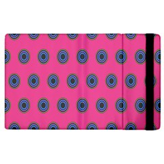 Polka Dot Circle Pink Purple Green Apple Ipad 3/4 Flip Case by Mariart