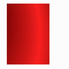 Red Gradient Fractal Backgroun Large Garden Flag (two Sides)