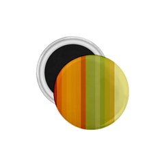 Colorful Citrus Colors Striped Background Wallpaper 1 75  Magnets by Simbadda