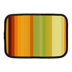Colorful Citrus Colors Striped Background Wallpaper Netbook Case (medium)  by Simbadda