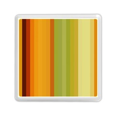 Colorful Citrus Colors Striped Background Wallpaper Memory Card Reader (square)  by Simbadda