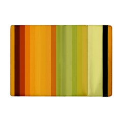 Colorful Citrus Colors Striped Background Wallpaper Ipad Mini 2 Flip Cases