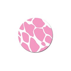 Baby Pink Girl Pattern Colorful Background Golf Ball Marker (4 Pack) by Simbadda