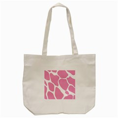 Baby Pink Girl Pattern Colorful Background Tote Bag (cream) by Simbadda