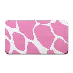 Baby Pink Girl Pattern Colorful Background Medium Bar Mats
